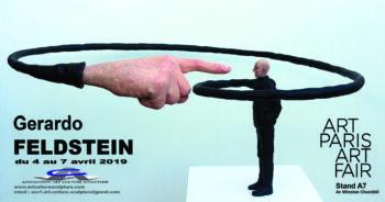 GERARDO FELDSTEIN, Art Paris Art Fair du 4 au 7 avril 2019